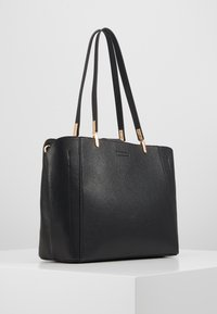 Dorothy Perkins - PANELLED COMPARTMENT TOTE - Tote bag - black - 3