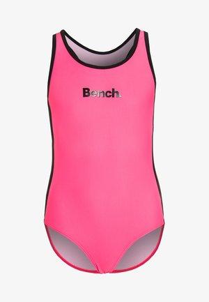Plavky - pink/black