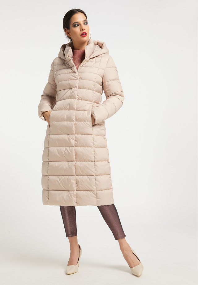 Winter coat - champagner