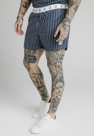 Shorts - navy  white