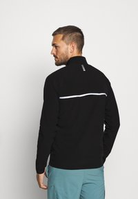 Under Armour - LAUNCH 3.0 STORM JACKET - Løbejakker - black/black/reflective - 2
