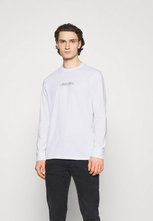 ONSTOMO LIFE TEE - Long sleeved top - white