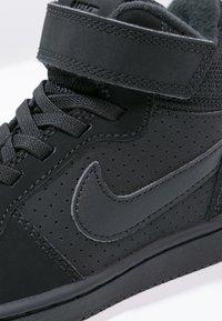 Nike Sportswear - COURT BOROUGH  - Sneakersy wysokie - black - 5