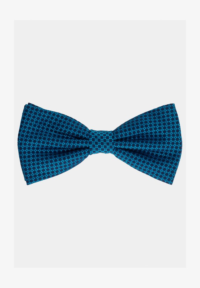 Bow tie - petrol/blau