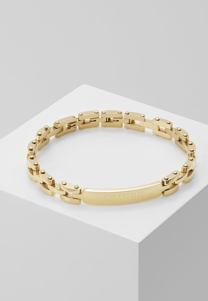 Guess - CENTRAL TAG CHAIN - Pulsera - gold-coloured