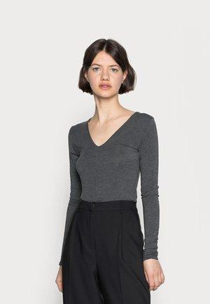 VANNA - Longsleeve - dark grey melange
