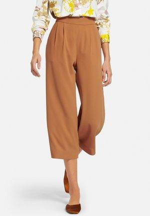 SCHLUPF-CULOTTE - Trousers - camel