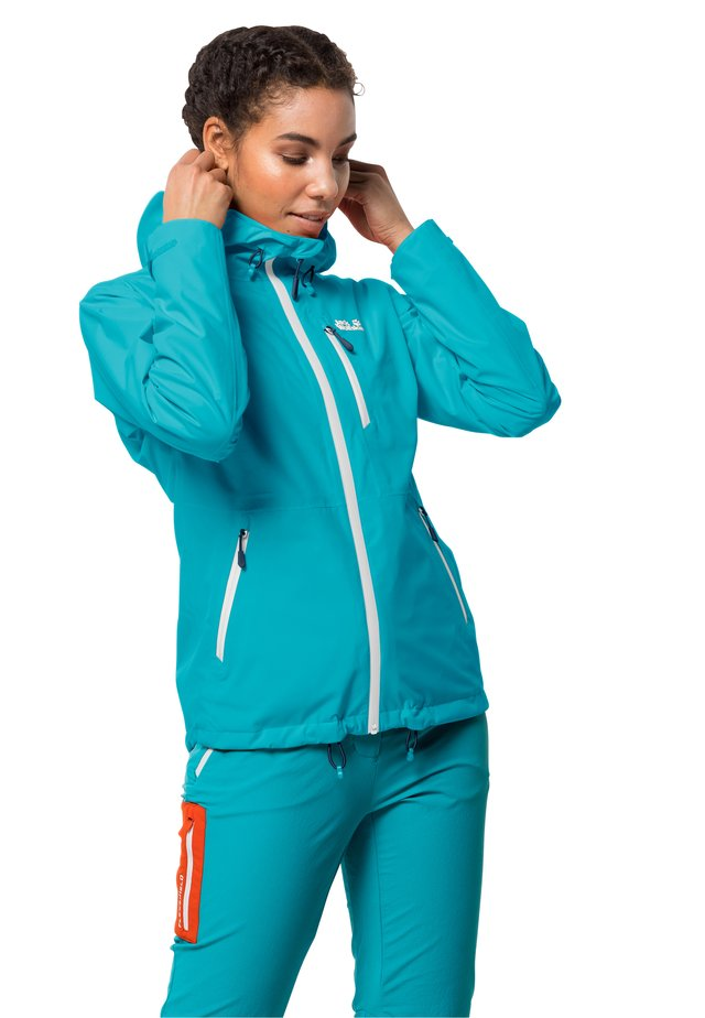 EAGLE PEAK - Waterproof jacket - dark aqua