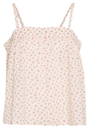 JULIANA TANK PRINT - Top - beige