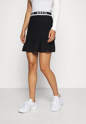 JANNE SKIRT - A-line skirt - black