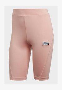 adidas Originals - R.Y.V. SHORT TIGHTS - Shorts - pink - 7