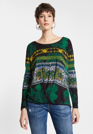 TS YESS - Long sleeved top - green