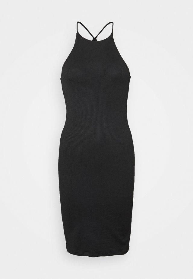 SERENA DRESS - Sukienka dzianinowa - black