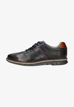 Sznurowane obuwie sportowe - dark blue 4100