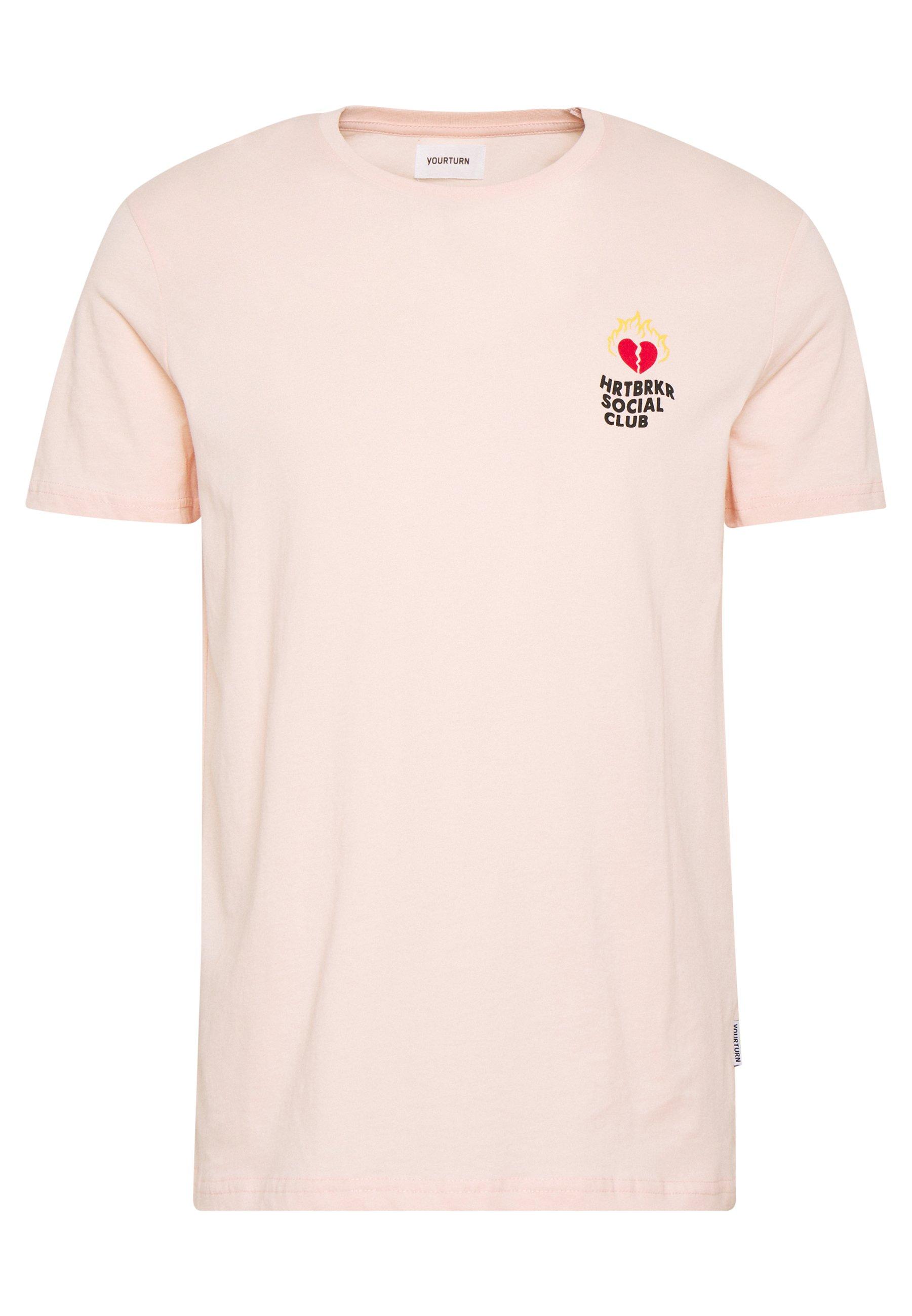 Yourturn T-shirt Print - Yellow
