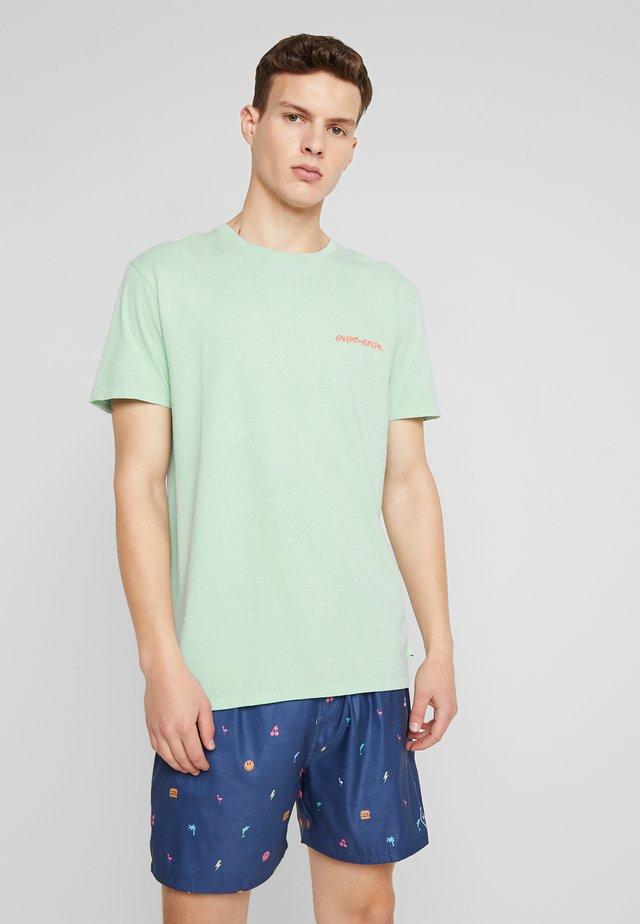 LAZYSUNSS - T-shirt imprimé - beach glass