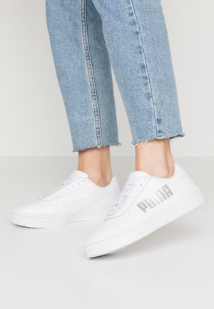 CALI STATEMENT - Sneakers laag - white/black
