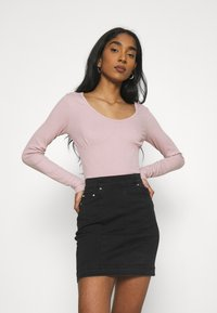 Even&Odd - Long sleeved top - pink - 0