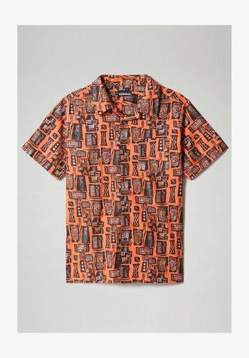G-NAPALI - Shirt - orange mask