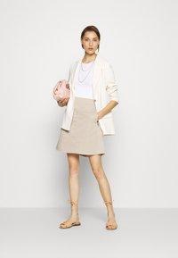 Marc O'Polo - A-line skirt - feather grey - 1