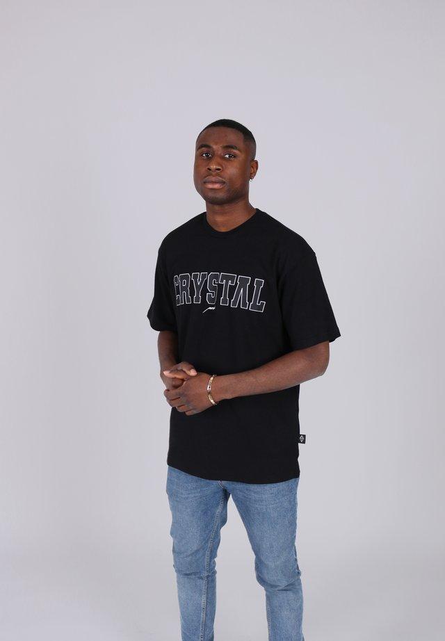 COLLEGE - Print T-shirt - schwarz