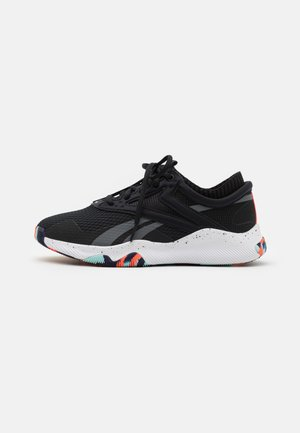 REEBOK HIIT TR - Sports shoes - black/white
