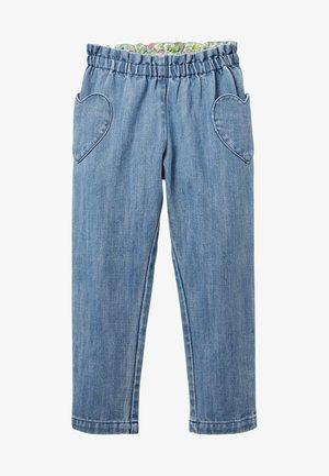 Trousers - elisabethanisches blau, feine streifen