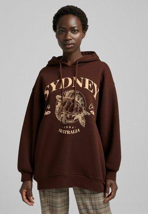 PRINT - Sweatshirt - brown