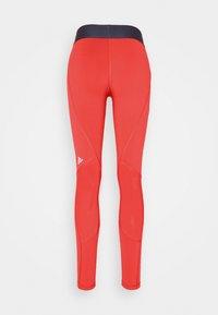 adidas Performance - ADILIFE - Collants - crew red/black/white - 7