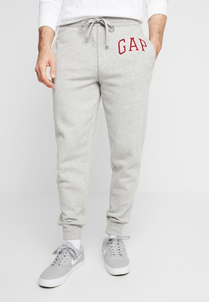 Pier One - ARCH JOGGER - Tracksuit bottoms - grey heather