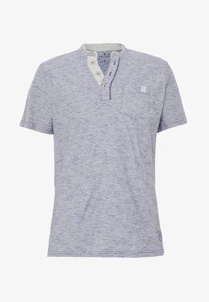 HENLEY - Basic T-shirt - estate blue