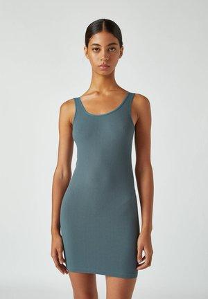 Pouzdrové šaty - blue