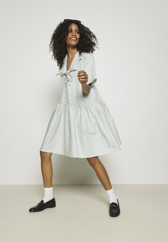 DELMARA DRESS - Shirt dress - dusty green
