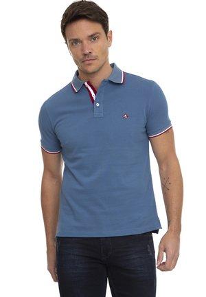 SHORT SLEEVE - Polo shirt - indigo