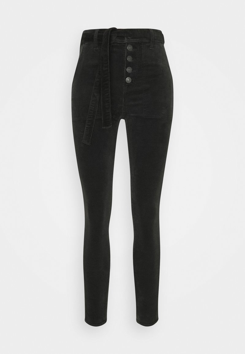 American Eagle - JEGGING - Trousers - onyx black