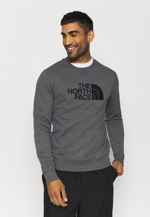 DREW PEAK CREW - Sweatshirt - mottled grey