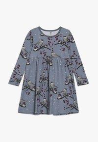 Walkiddy - Jersey dress - blue - 0