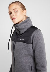 Columbia - HYBRID  - Fleece jacket - black - 3