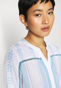 Rich & Royal - DRESS EMBROIDERED - Day dress - capri blue - 4