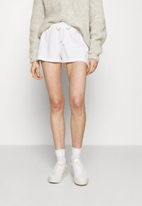 American Vintage - VEGIFLOWER - Shorts - blanc - 0