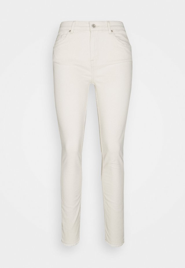 ONLBLUSH MID - Skinny džíny - ecru