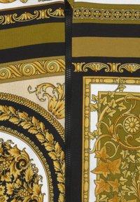 Versace - HERITAGE PRINT UNISEX - Zip-up sweatshirt - white/gold/kaki - 2