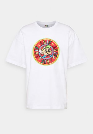 RIZZO MOUSE UNISEX - T-shirts med print - white