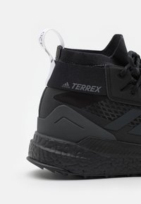 adidas Performance - TERREX FREE HIKER GORE-TEX - Fjellsko - core black/carbon/footwear white - 5