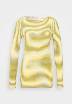 LONG SLEEVE NECK STRIPED - Topper langermet - multi/fresh pea