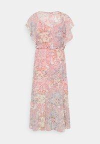 ONLY - ONLALLY MIDI DRESS - Vestido informal - sugar coral - 1