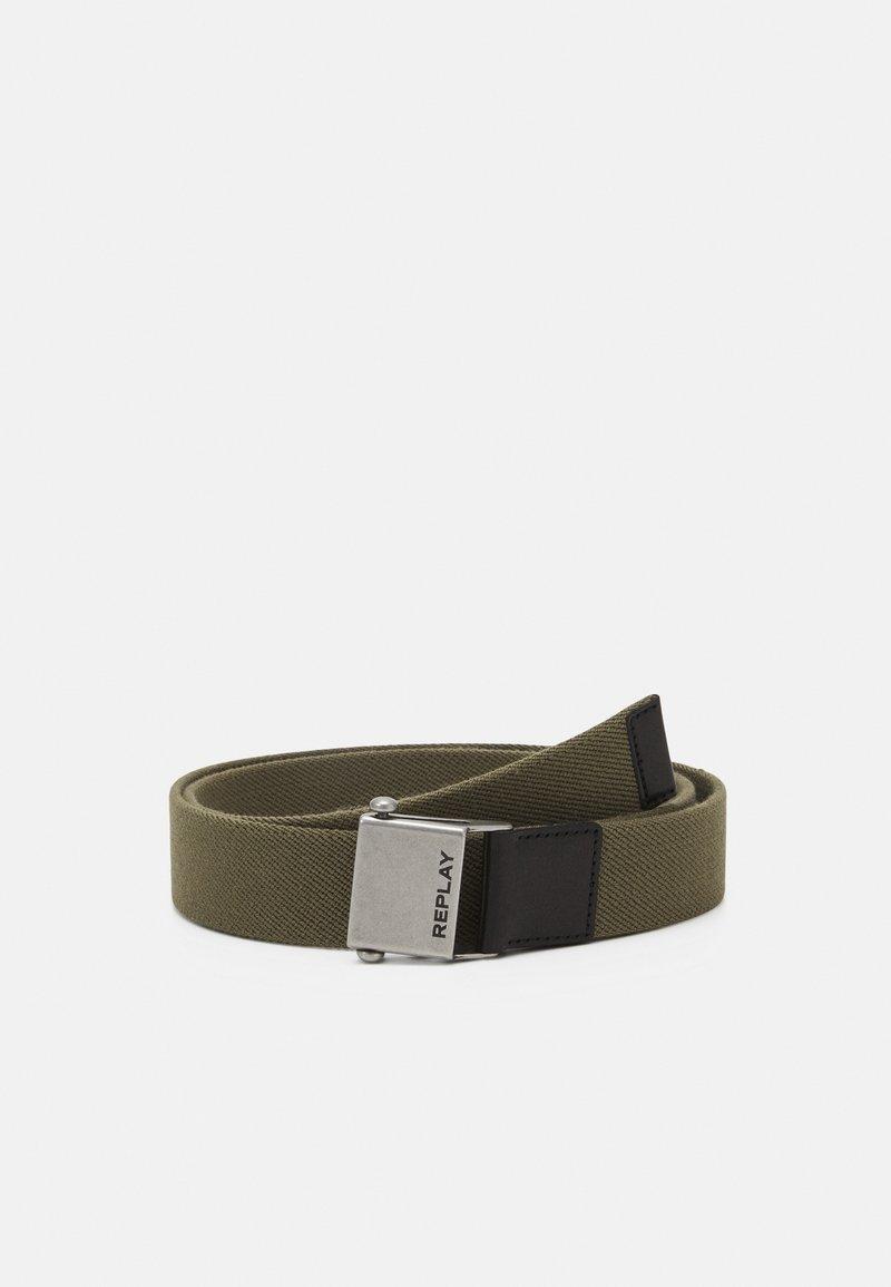 Replay - BELT UNISEX - Belt - military green