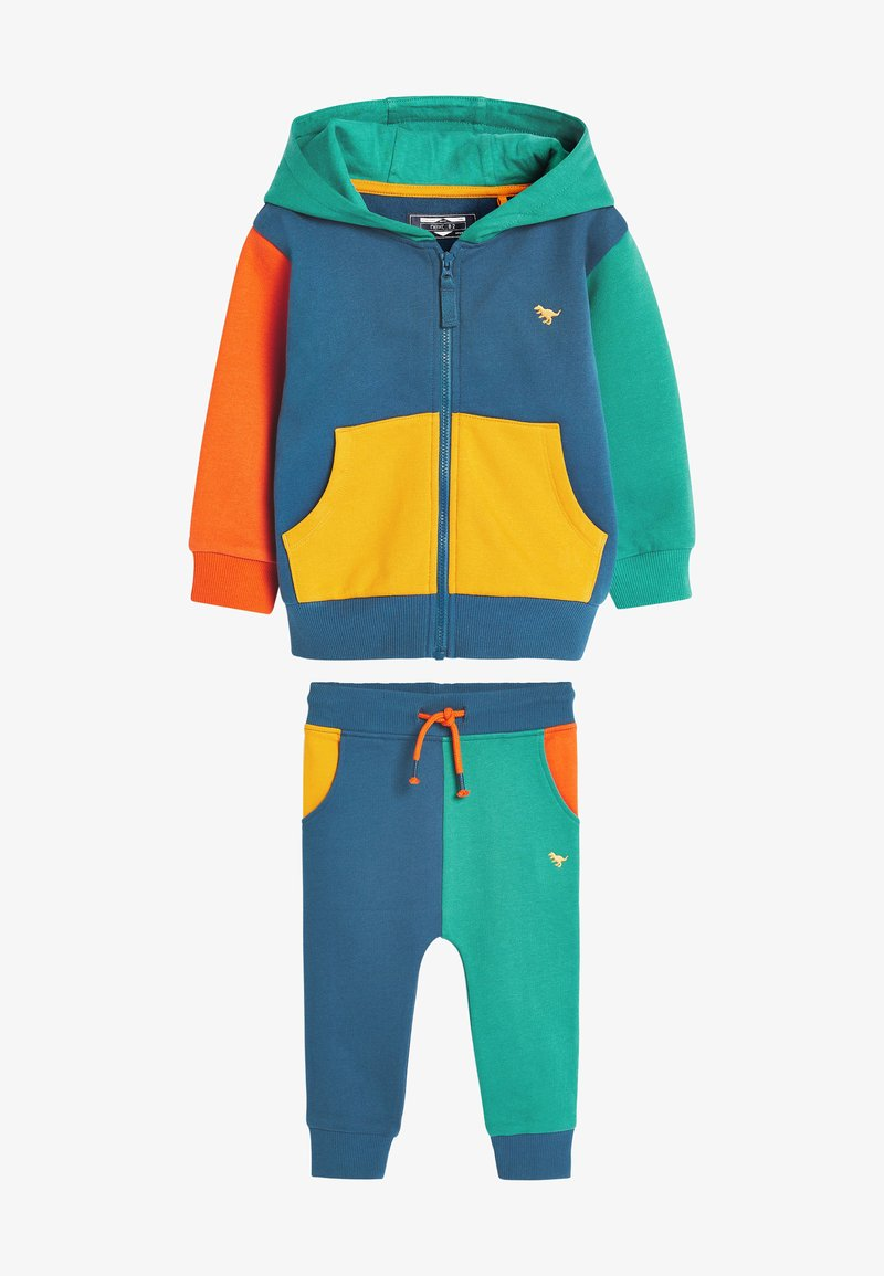 Next - SET - Zip-up hoodie - multi-coloured