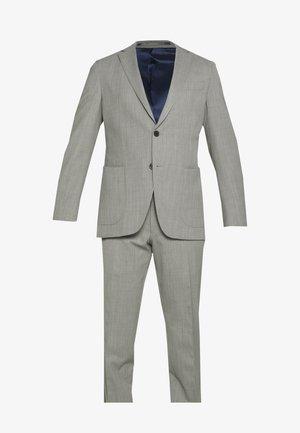 SLIM FIT SUIT - Kostym - grey