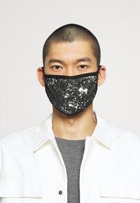 Icon Brand - PATTERNED COMMUNITY MASK - Community mask - black - 3